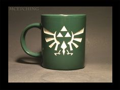Seal of Hyrule coffee mug.