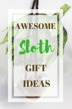 We have some really cool and awesome Sloth gifts just for you. Plenty to choose from whether it is a present for yourself because you just can't resist or perhaps you're buying a Sloth gift for someone special. Creative Christmas Gifts, Christmas Gifts For Boyfriend, Handmade Christmas Gifts, Christmas Gift Guide, Creative Gifts, Boyfriend Gifts, Cool Gifts, Best Gifts, Awesome Gifts