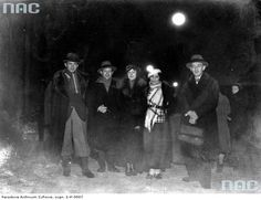 Group of artists in Zakopane, 1933