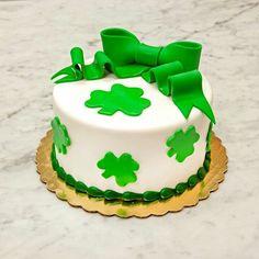 Cake boss - simple St. Patricks Day cake