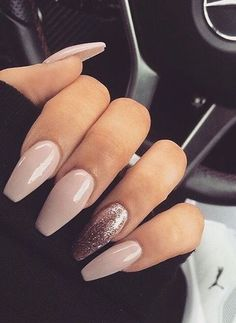 pretty nails for summer . pretty nails for winter . pretty nails design Smalti nude: tutti i colori più belli Aycrlic Nails, Prom Nails, Long Nails, Cute Nails, Pretty Nails, Hair And Nails, Manicures, Coffin Nails, Bride Nails