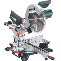 The New Metabo KGS305M Mitre Saw - Sliding Compound with single bevel