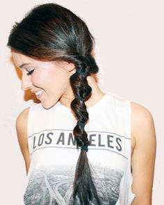 The Looped Twist #hair #updo
