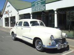 Vintage car in #Stanford