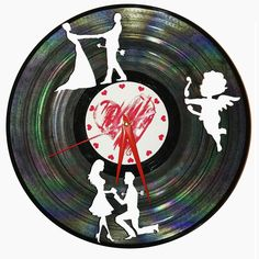 Cadou Valentines Day Ceas disc vinil - LOVE DICE