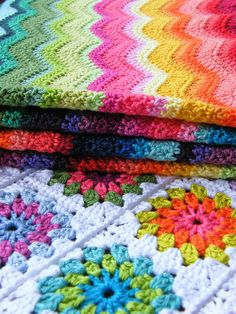Crochet in colour - Colour-Heaven
