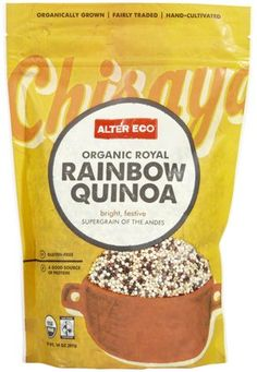 Alter Eco Fair Trade Fair Trade Organic Rainbow Quinoa