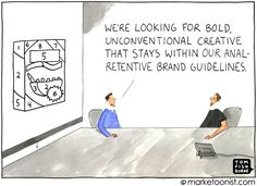 Creative marketing delivered in a conversational tone is more engaging than boring corporate dribble that's constricted by stiff branding guidelines. Inbound Marketing, Content Marketing, Social Media Marketing, Brand Identity, Branding, Brand Promotion, Geek Humor, Brand Guidelines, Competitor Analysis
