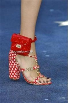 CHANEL Clutch anklet