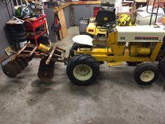 Cub Cadet 100 John Deere Garden Tractors, Yard Tractors, Small Tractors, Tractor Mower, Antique Tractors, Vintage Tractors, Small Garden Tractor, Cub Cadet Tractors, Garden Tractor Attachments