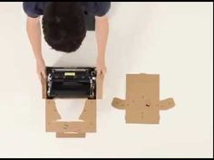 ▶ Samsung Laserdrucker: Origami, Clip & Mate [IDEA 2013] - YouTube