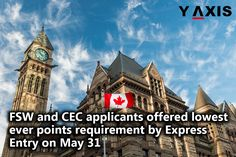 May 31 draw offered Invitation to Apply to 3, 877 applicants and this was the 65th draw in the pool held ever since #ExpressEntry was launched in January 2015. #CanadaExpressEntry #CanadaExpressEntryVisa #YAxis #YAxisImmigration