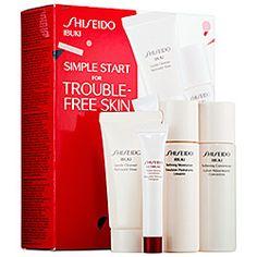 Shiseido - Simple Start For Trouble-Free Skin Ibuki Set  #sephora