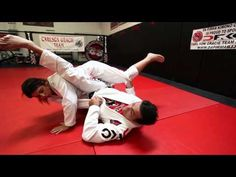 Jiu Jitsu Techniques - Armbar Sweep From The Guard - YouTube
