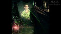 Arkham Knight new costume of the Riddler