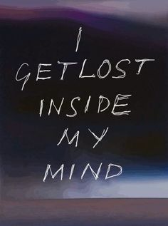 Imagen de lost, mind, and quote
