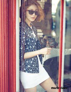 'Marie Claire Korea' March 2015 | 고준희 Go Jun Hee | Tommy Hilfiger