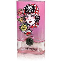 I love Ed Hardy's Smell Good Stuffs (otherwise known as fragrances :) This was my second fragrance I purchased and I love it! Known as BORN WILD, it has a blend of magnolia and peach blossoms. There are a few other scents mixed in - it's airy, sweet and light. Perfect for summer and remains on the body for a good while. Highly recommended (obviously) :)