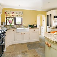 Step inside a warm and rustic country kitchen. Click the image to see the gallery.