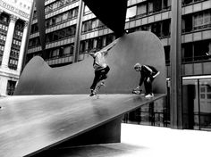 Untitled (playground) by Picasso, Chicago, 1967