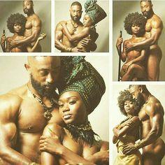 Black Love, King and Queen, United Black Couples, Cute Couples, Black Art Pictures, Couple Pictures, Pelo Natural, Black Artwork, Black Families, Black Pride, Afro Art