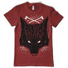 We are freaks Shirt design | Tshirt-Factory