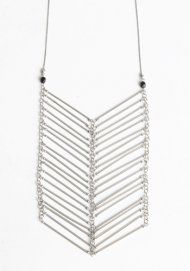 Armored Bars Necklace  $26.00