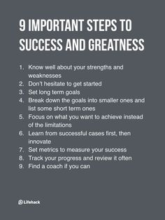 Step-By-Step Guide To Achieve Success And Greatness