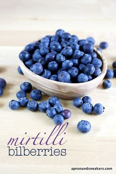 Blueberries... Apron and Sneakers - Cooking & Traveling in Italy and Beyond