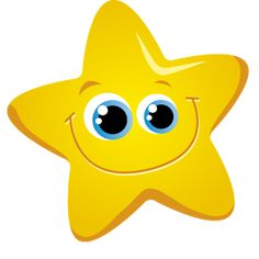 Free Star Clip Art of Twinkle twinkle little star clipart clipart image for your personal projects, presentations or web designs. Star Clipart, Clipart Images, Islam For Kids, Twinkle Twinkle Little Star, Preschool Learning, Smile Face, Rubber Duck, Activities For Kids, Xmas