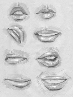 This pin was discovered by rohit patil. Mouth Drawing, Nose Drawing, Painting & Drawing, Pencil Art Drawings, Realistic Drawings, Art Drawings Sketches, Arte Com Grey's Anatomy, Anatomy Art, Illusion Kunst