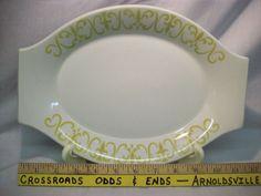 Vintage Paul McCobb design serving platter JACKSON china RESTAURANT WARE #JACKSONCHINA