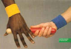 Benetton – Les années Toscani |  Pub en stock United Colors of Benetton