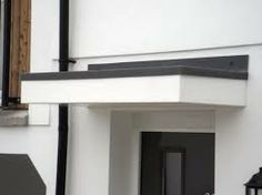 modern front door flat canopy - Google Search & front door awnings - Google Search | rental | Pinterest | Front ...