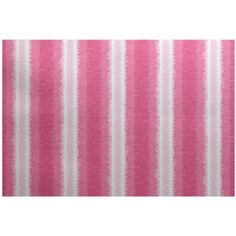 Simply Daisy x Sea Lines Stripe Print Indoor/Outdoor Rug, Blue Aqua Area Rug, Beige Area Rugs, White Rug, White Area Rug, Pink White, Indoor Outdoor Area Rugs, Pink Rug, Rug Size, Size 2