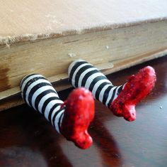 wicked witch book mark