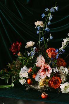 Dutch Masters Wedding Inspiration via oncewed.com