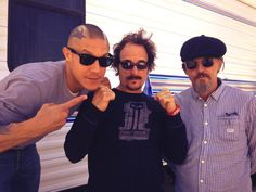 Theo Rossi, Kim Coates, and Tommy Flanagan