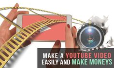 How to Make a Youtube Video Easily and Make Moneys Free Video Editing Software, Film School, Create Website, Music Videos, How To Make Money, Marketing, Education, Learning, Youtube