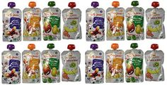 Happy Baby Organic Baby Food Oz 16 Count for sale online Baby Food Jar Crafts, Baby Food Jars, Toddler Meals, Kids Meals, Baby Food Mill, Baby Food Schedule, Meal Ready To Eat, Baby Food Containers, Baby Food Storage