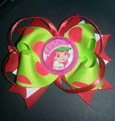 Strawberry Shortcake bow.
