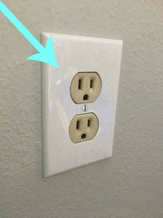 Do you have outlet covers that are the outdated almond color? I found an amazing product that I am super excited to share with you that will fix mismatched electrical outlets and electrical outlet covers.