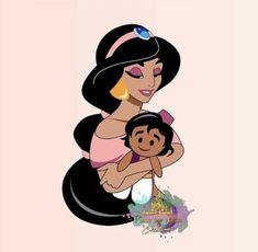Disney Time, Punk Disney, Disney Fan Art, Disney Pixar, Walt Disney, Disney Characters, Disney Princess Jasmine, Aladdin And Jasmine, Disney And More