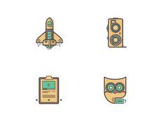 Tutorial icons