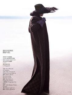 Vogue China September 2014 | by Saskia de BRAUWER Solver Sundsbø