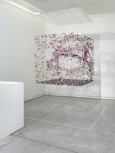 "uvre: "" The Air That We Breathe, Claire Morgan, "" Claire Morgan, Sculpture Art, Sculptures, Fine Art Textiles, Modern Art, Contemporary Art, Land Art, Public Art, Installation Art"
