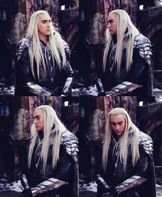 The Hobbit behind the scenes BTS - Lee Pace as Thranduil