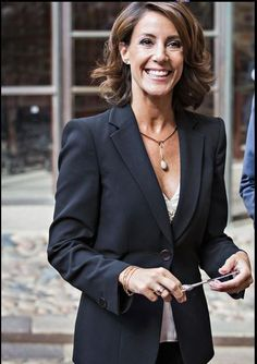 "Princess Marie of Denmark attended the opening of the ""Georg Jensen. An adventure in Danish silver"" exhibition - 03.09.15"
