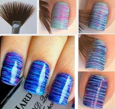 DIY nail art...pretty.
