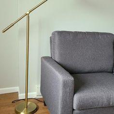 Dawson Antique Brass Pharmacy Floor Lamp - #1K787   Lamps Plus Pharmacy Floor Lamp, Gold Floor Lamp, Profile Design, Antique Brass, Lamps, Bulb, Antiques, Style, Lightbulbs